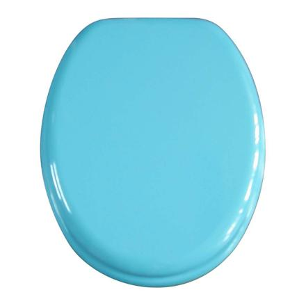abattant wc turquoise