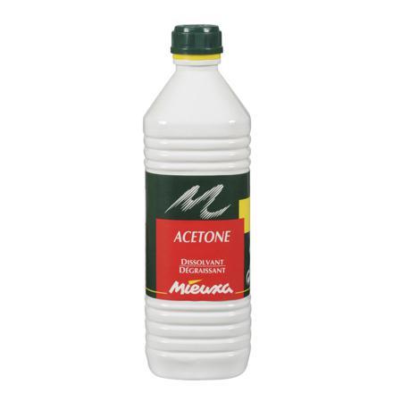 acetone pour nettoyer