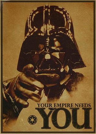 affiche vintage star wars
