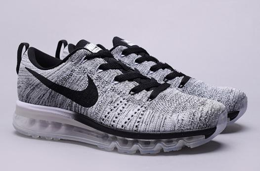 air max flyknit grey