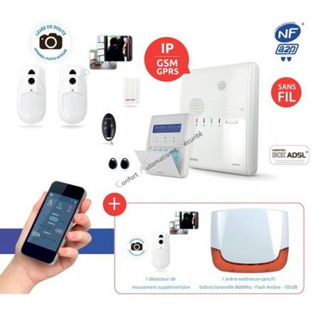 alarme sans fil nfa2p