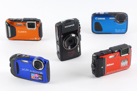 appareil photo eau de mer
