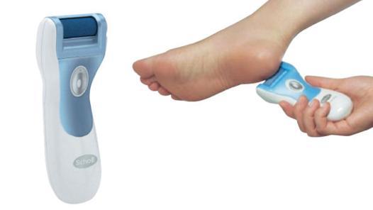 appareil pour enlever la peau morte des pieds