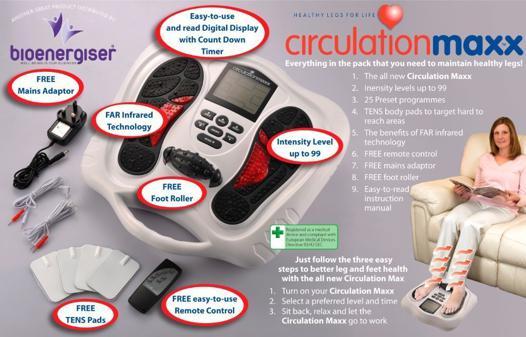 appareil pour la circulation des jambes