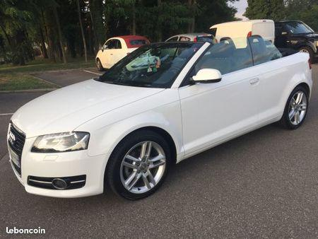 audi a3 cabriolet blanche