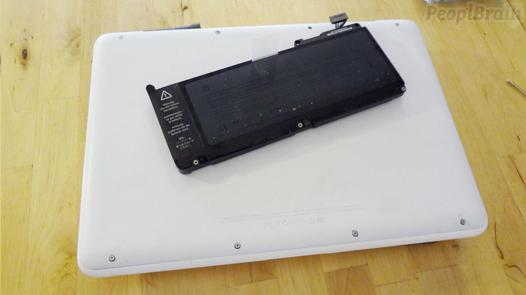 batterie macbook blanc 2009