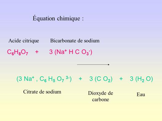 bicarbonate de soude acide citrique