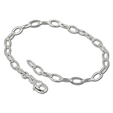 bracelet chaine argent femme