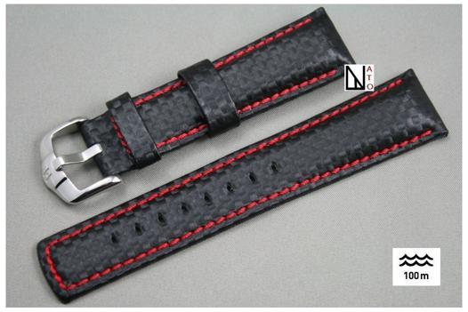 bracelet montre carbone