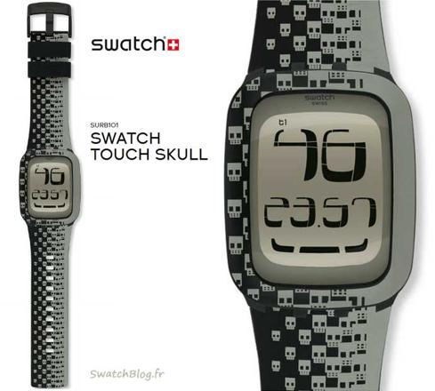 bracelet montre swatch touch
