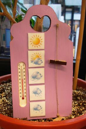 bricolage thermomètre