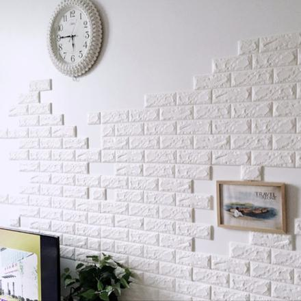 brique mur autocollant
