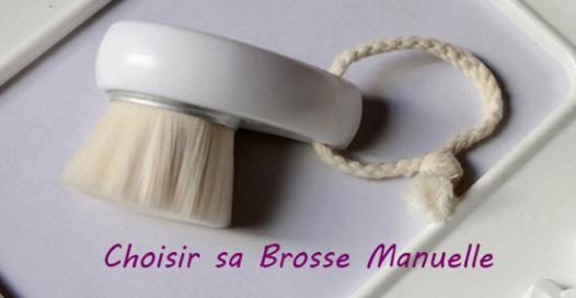 brosse nettoyante visage manuelle