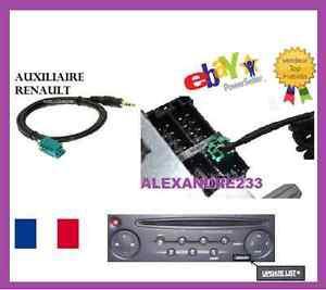 cable auxiliaire clio 2