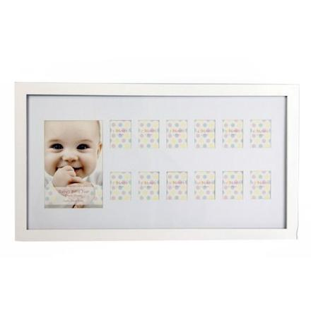 cadre 12 photos pour bébé