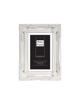 cadre photo bois blanc