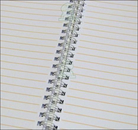 cahier lignes anglaises