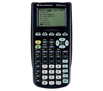 calculatrice texas instrument ti 82