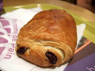 calorie pain au chocolat