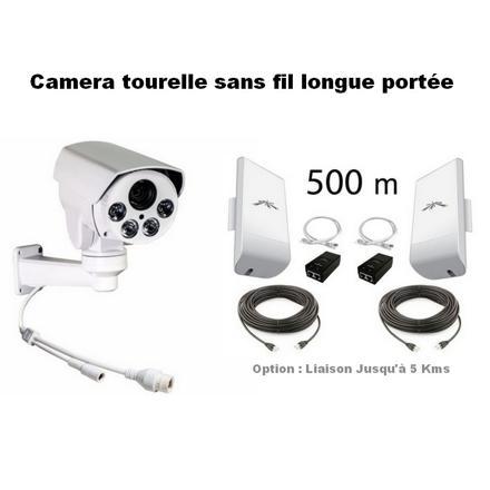 camera sans fil longue portée