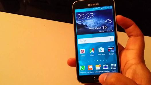 capture d écran galaxy s7 edge