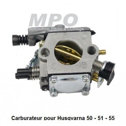 carburateur husqvarna 55