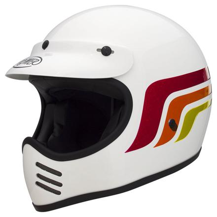 casque cross vintage