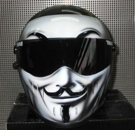 casque de moto original