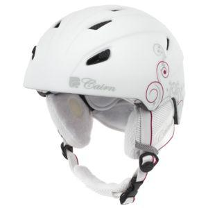 casque de ski blanc