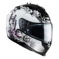 casque fille moto