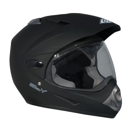 casque semi cross