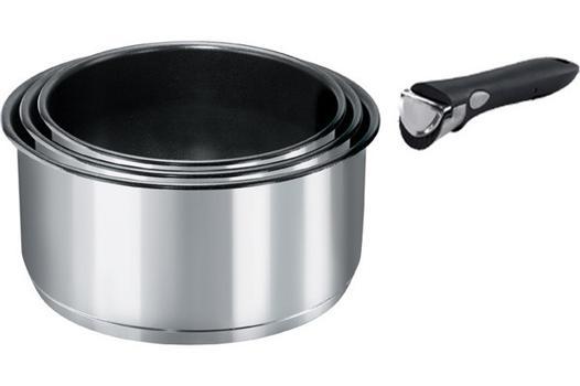 casseroles poignées amovibles