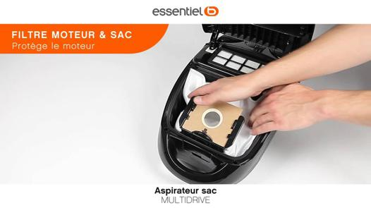 changer sac aspirateur