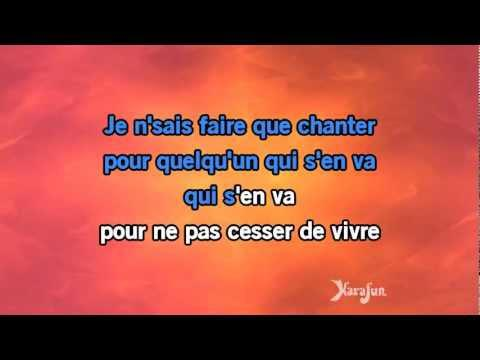 chanson karaoké facile chanter