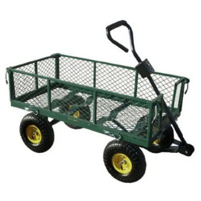 chariot 4 roues jardin