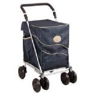 chariot de course à pousser 4 roues