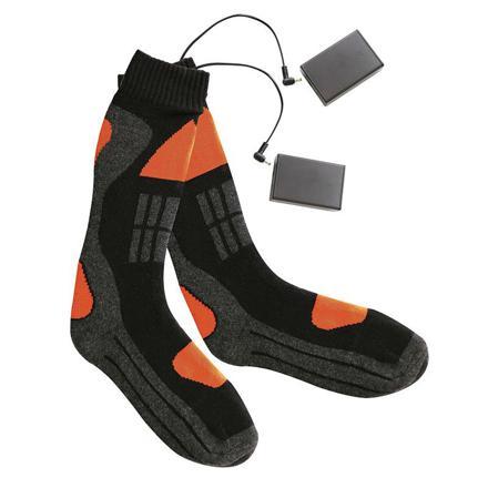 chaussettes chauffantes à piles