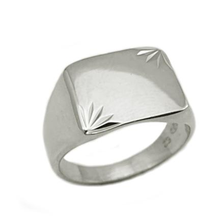 chevaliere homme argent