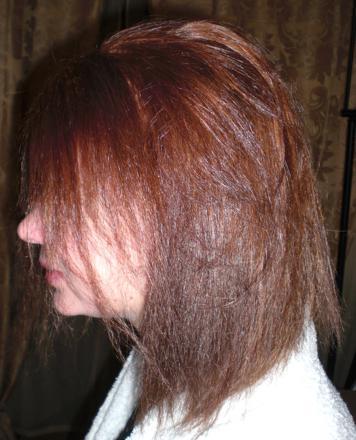 cheveux brulés defrisage