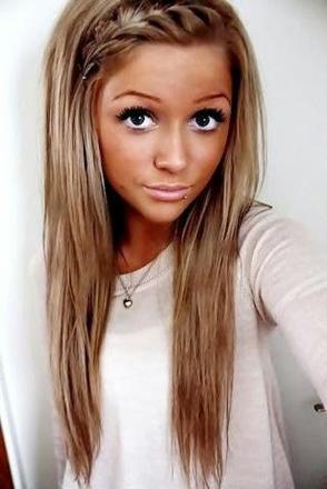 cheveux long fin