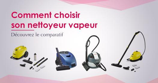 choisir un nettoyeur vapeur