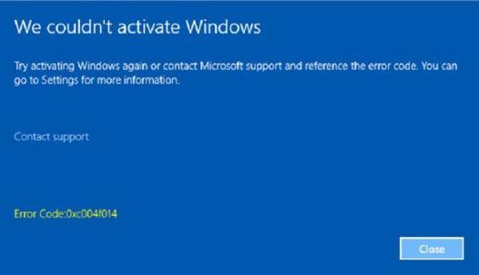 code erreur windows 10