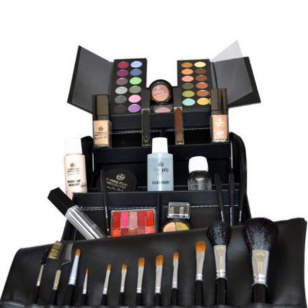 coffret de maquillage professionnel