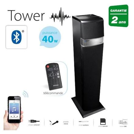 colonne multimedia bluetooth