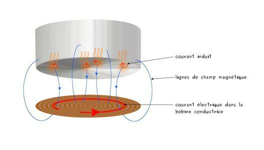 comment fonctionne plaque induction