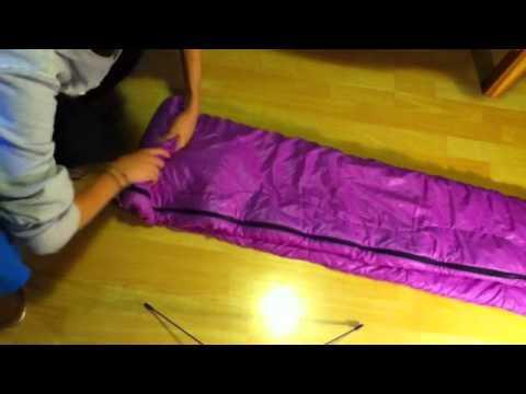 comment plier un sac de couchage