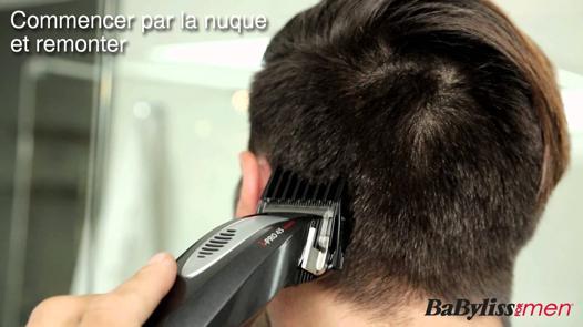 comment utiliser une tondeuse à cheveux