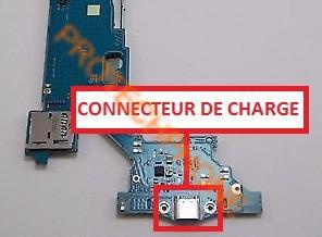 connecteur de charge galaxy tab 3 7