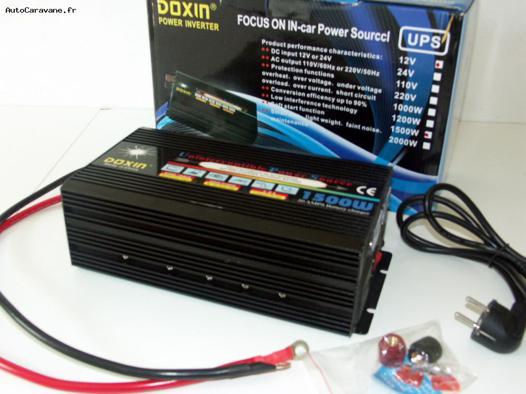 convertisseur chargeur de batterie