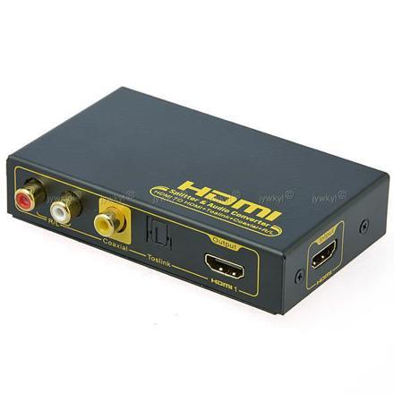 convertisseur hdmi audio